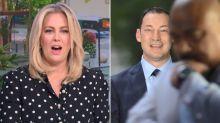 Sunrise's Sam Armytage shocked as live TV interview shut down