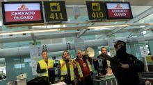 Huelga en el aeropuerto de Barcelona con 1.000 vuelos afectados y 100 cancelados