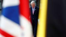 EU leaders meet, united on Brexit demands - for now