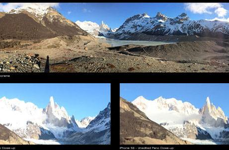 Camera showdown: iPhone 5s vs. iPhone 5 tested in the wilds of Patagonia