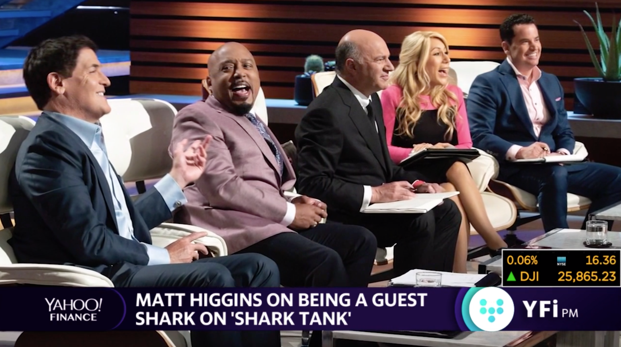 Guest 'Shark' Matt Higgins gives investing tips, dos and don'ts for entrepreneurs