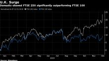 U.K. Stocks Surge to Record as Election Boosts Banks, Utilities