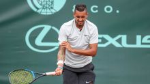 Kyrgios fighting to be fit for French Open