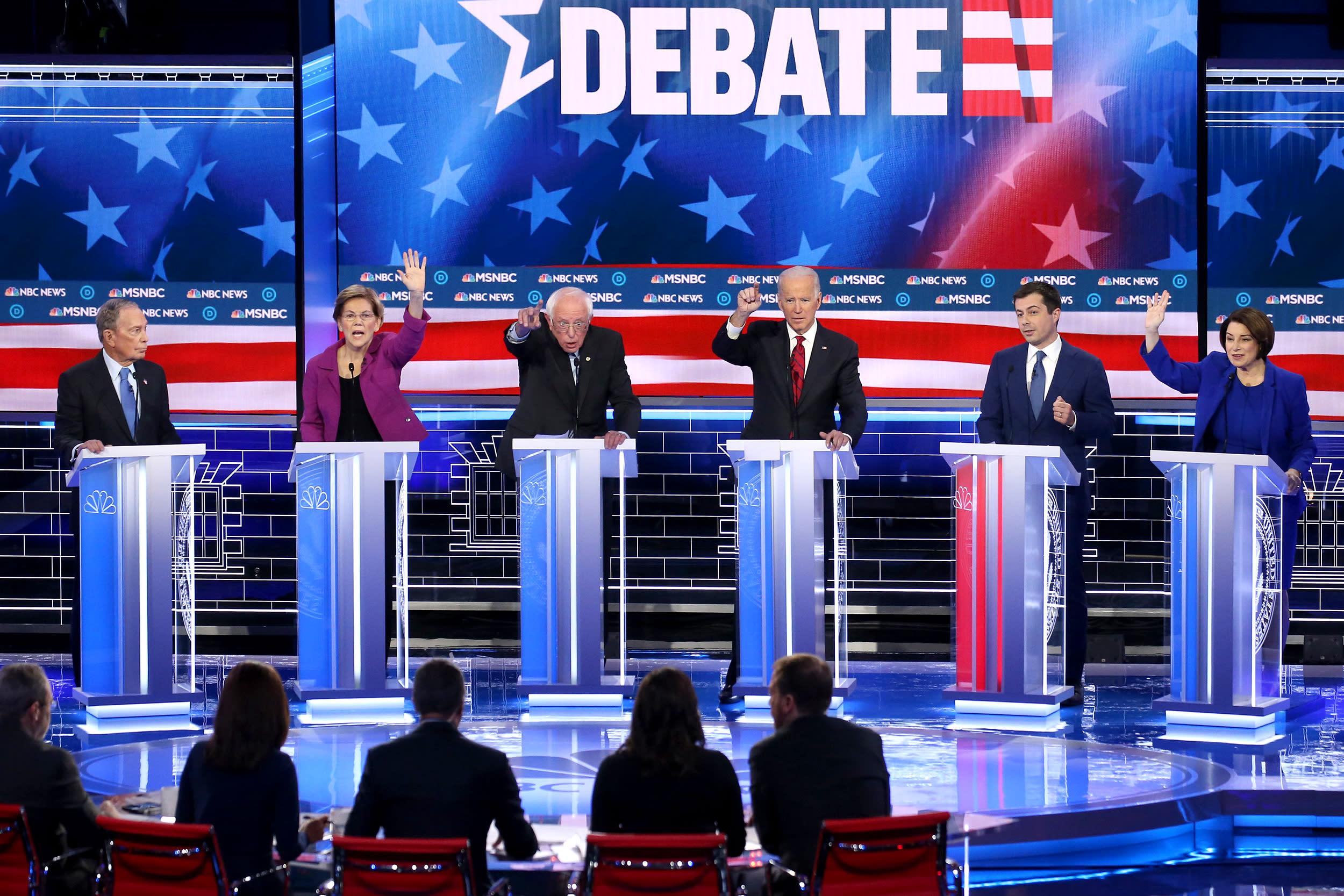 Full transcript: Ninth Democratic debate in Las Vegas
