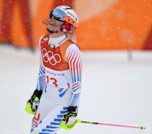 Lindsey Vonn's final Olympic race ends in disappointment; Mikaela Shiffrin wins silver