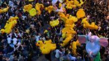 Revolusi bebek karet meluas di Thailand