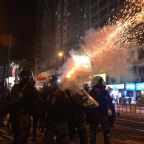 Hong Kong protests: Demonstrators throw molotov cocktails amid clashes with police