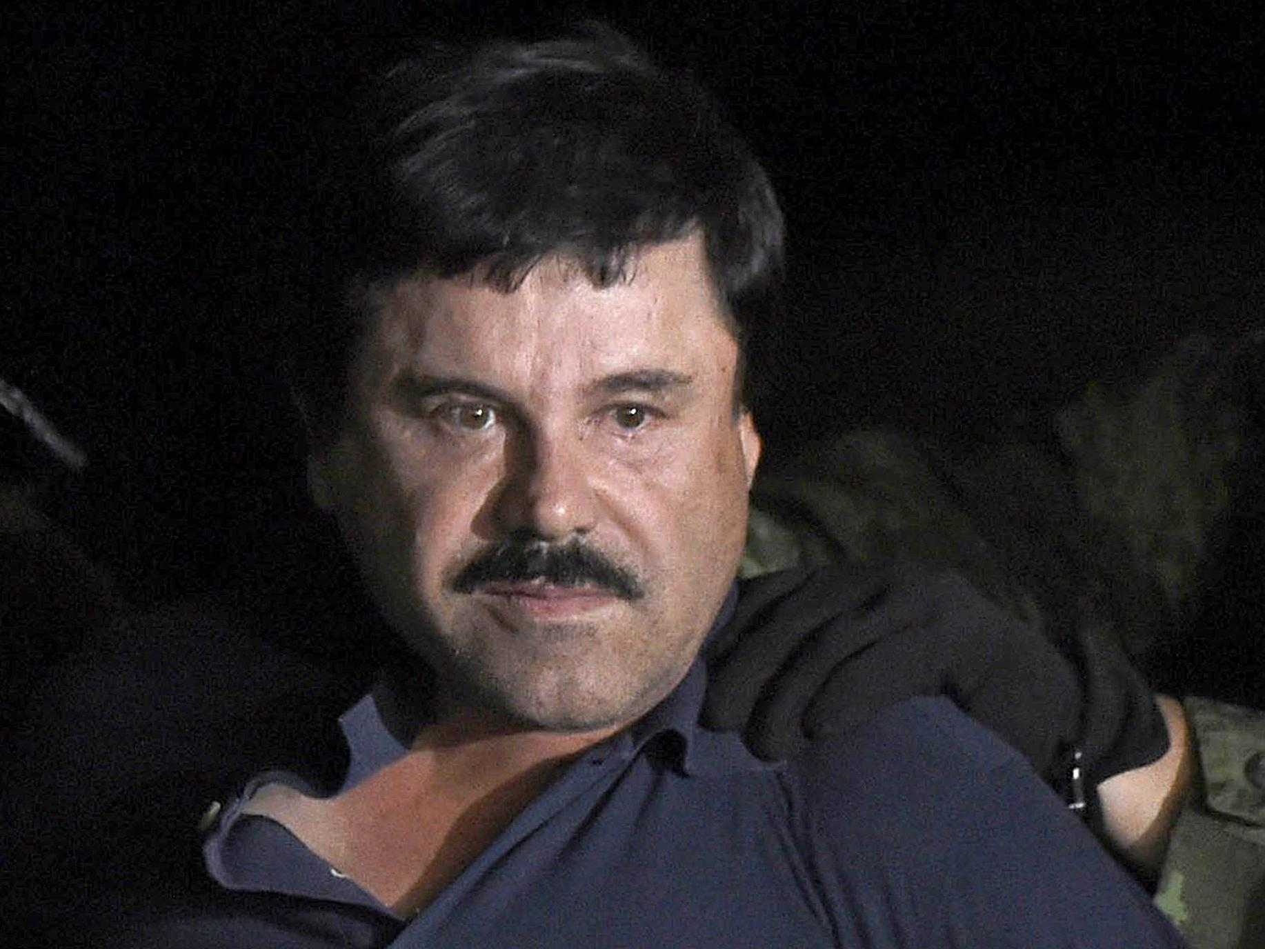 Feds want to seize $12.6 billion in drug money from 'El Chapo'