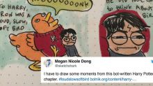 'Harry Potter' written by a bot is gloriously illustrated by a human