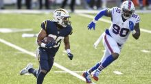 Chargers' Austin Ekeler feels healthy, but his left leg still isn't right