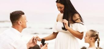 Footy star's embarrassing gaffe in proposal post