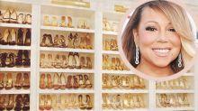 Dê uma olhadinha na coleção de sapatos de Mariah Carey, e tente não morrer de inveja