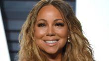 Mariah Carey muestra de más en este ajustado vestido