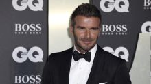David Beckham surprises pensioner in front garden during lockdown