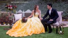 Enchanting 'Beauty and the Beast' wedding shoot will inspire Belle-themed brides