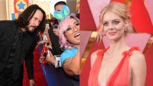 'Bill & Ted 3' star Samara Weaving says Keanu Reeves is not aware of his huge online fanbase (exclusive)