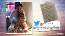 Amitabh Bachchan shares sentimental letter from a young Abhishek, and people are loving it