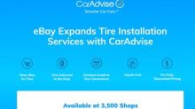 eBay Motors Teams Up with CarAdvise, Expands Tire Installation Program in United States