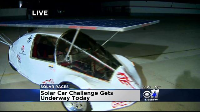 Solar Car Challenge Gets Underway At TMS