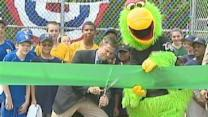 Pirates Re-Dedicate Youth Baseball Field In Brighton Heights