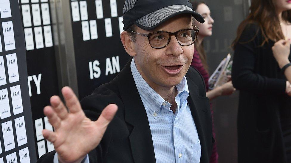 Rick Moranis: Suspect arrested over random street attack