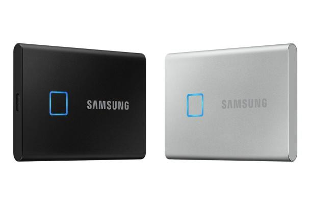 Samsung's fingerprint-secured T7 Touch SSD drops to $160 for 1TB