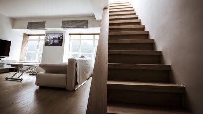 加裝內置樓梯 天台變真正私人空間