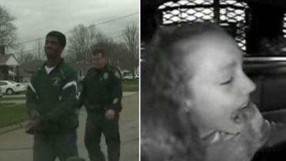 Police officer detains daughter's boyfriend