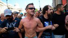 Récord de contagios en Reino Unido el mismo día que celebran una manifestación negacionista