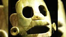 Recuperada peça maia de mais de 1.000 anos