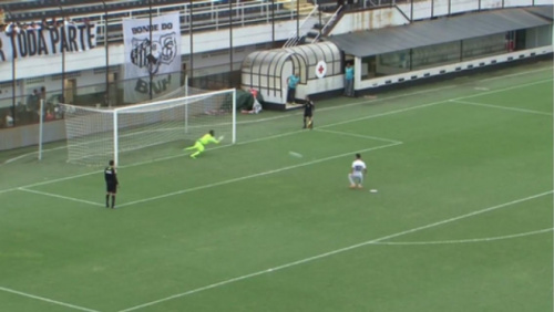 Goleiros brilham nos pênaltis, e Bahia elimina o Santos no sub-20