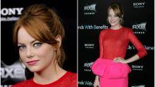 Rosa y rojo: las famosas se atreven con el 'mix' del momento