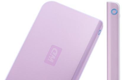 Western Digital's Passport drive goes pink for breast cancer research
