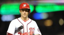 Trea Turner had a very good excuse for being late to workout