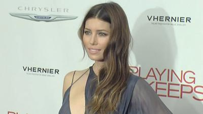 Jessica Biel Stuns At NYC 'Playing For Keeps' Premiere