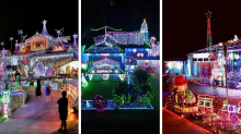 These are some of the best Christmas lights around the country