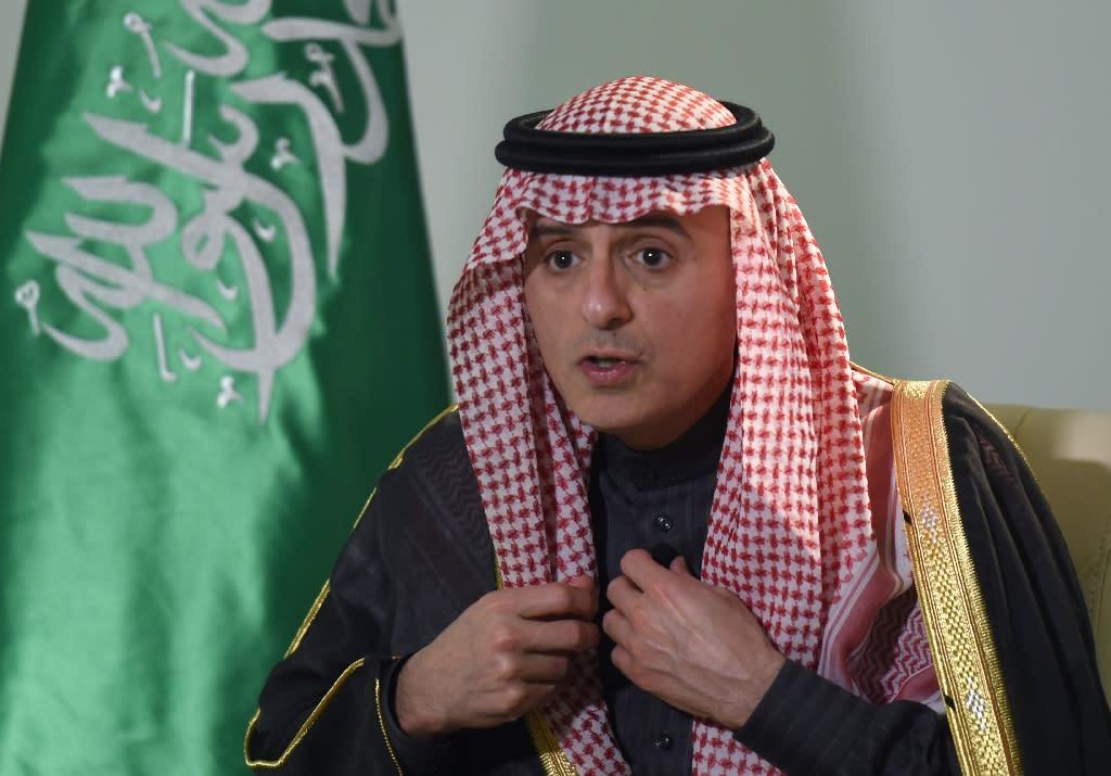 "Saudi Minister of Foreign Affairs Adel al-Jubeir said post-revolution policies in Iran had been ""agressive"" (AFP Photo/Fayez Nureldine)"