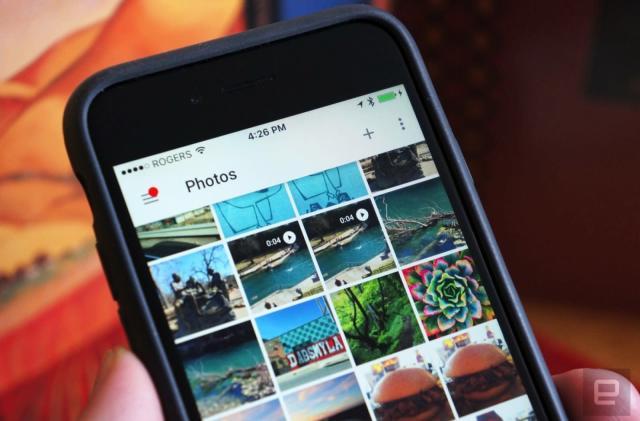 Google app test makes editing photos more social