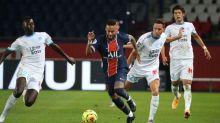 Clássico entre PSG e Marseille tem acusação de racismo e expulsão de Neymar; confira