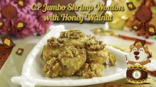 CP Jumbo Shrimp Wanton with Honey Walnut