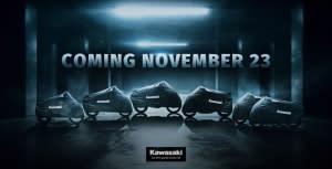重磅預告!KAWASAKI將於11/23公布六款新車