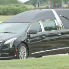 College Station welcomes former first lady Barbara Bush home one final time