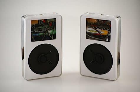 Speaker mod turns iPods into shells of their former selves