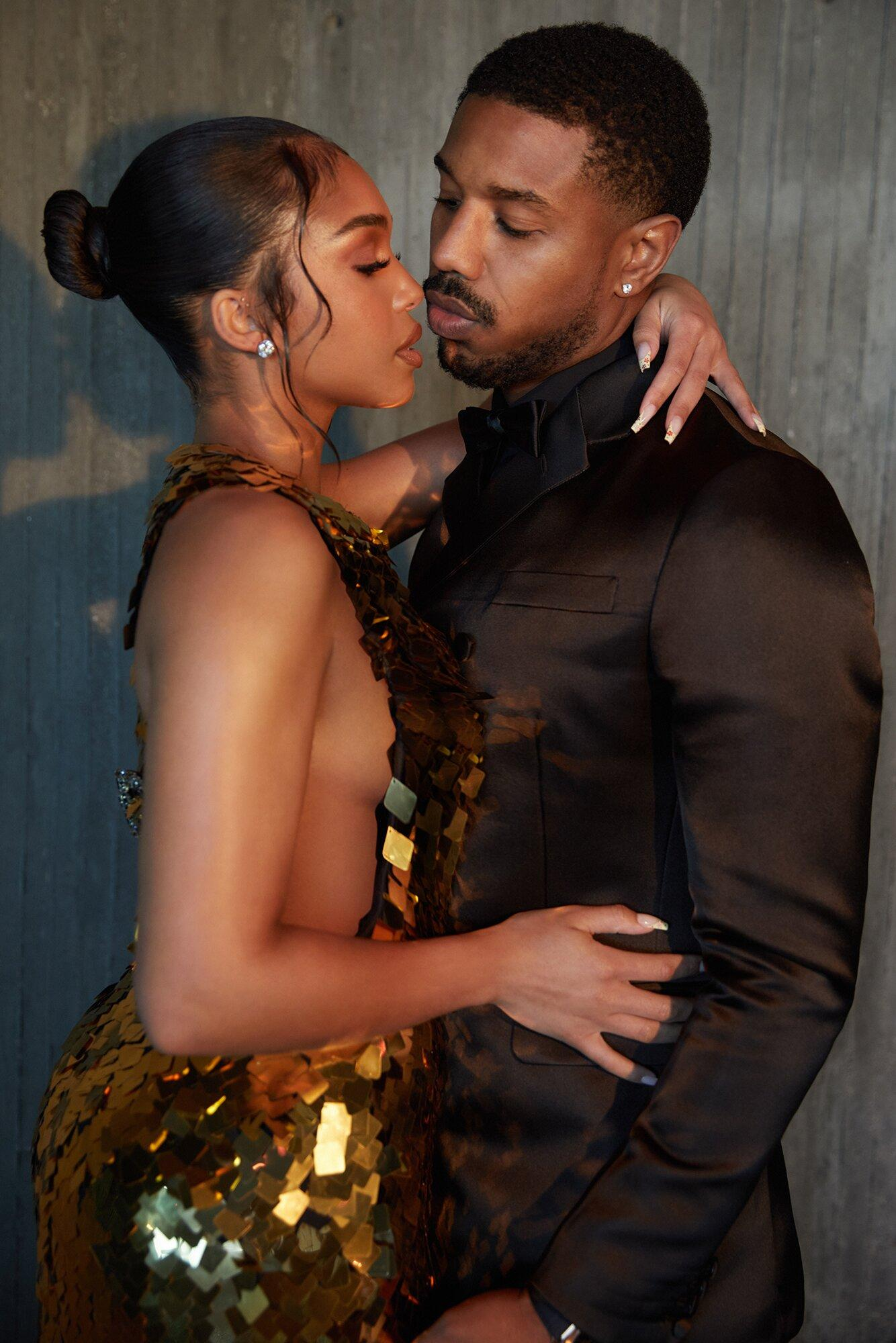 Michael B. Jordan and Lori Harvey Have Sexy and Stylish Date Night for Without Remorse Premiere