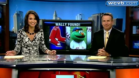 Red Sox mascot 'Wally' found after reported missing