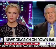 Megyn Kelly and Newt Gingrich trade blows in charged interview about Trump
