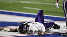 Ravens' season ends with Jackson in locker room, 17-3 loss