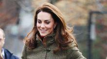 Visita fría e informal de Kate Middleton