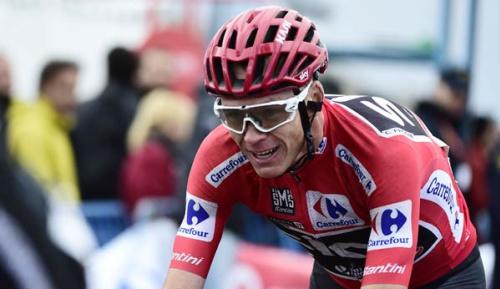 Radsport: Vuelta: Froome steht vor Gesamtsieg - Contador gewinnt auf dem Angliru