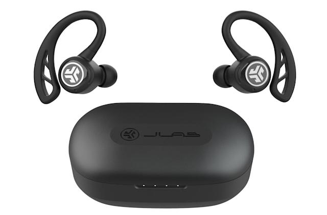 JLab's true wireless earbuds offer 70 hours of total listening time